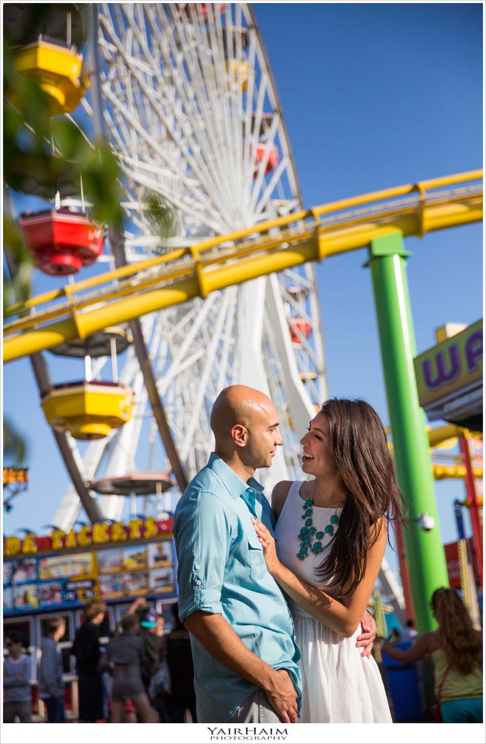 Santa-Monica-pier-engagement-photos-photography-6