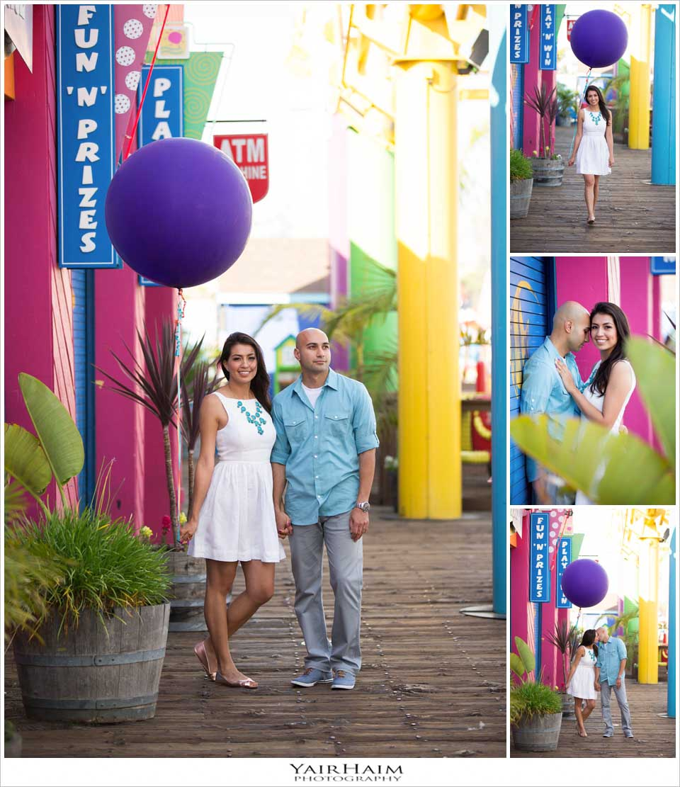 Santa-Monica-pier-engagement-photos-photography