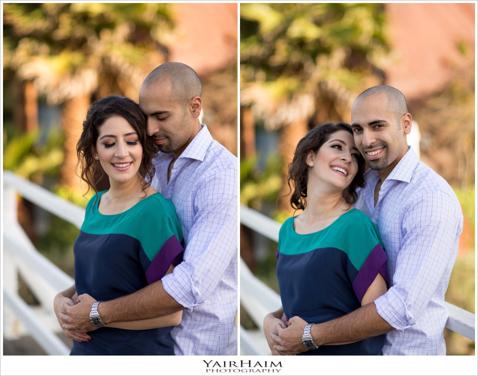 Santa-Monica-Canals-engagement-photography